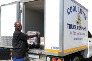 The Cool Little Truck offers refrigerated transport